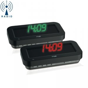 TFA 60.5009 budzik biurkowy HOLO CLOCK zegarek elektroniczny LED 3D z termometrem sterowany radiowo