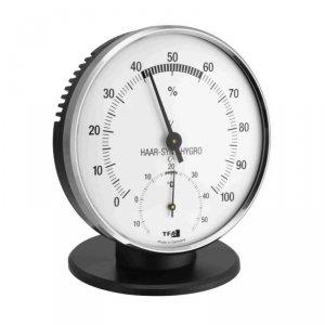 TFA 45.2032 termohigrometr tradycyjny czujnik temperatury i wilgotności mechaniczny włókna syntetyczne 102 mm