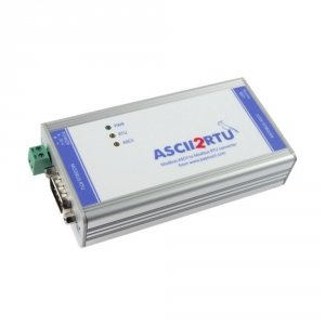 Papouch ASCII2RTU konwerter przemysłowy Modbus RTU do Modbus ASCII