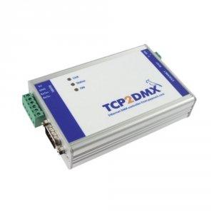 Papouch TCP2DMX konwerter przemysłowy interfejsu Modbus TCP do DMX512