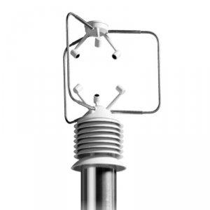 DeltaOHm HD 2003 wiatromierz ultradźwiękowy trójosiowy anemometr profesjonalny turbulencje dodatkowe czujniki
