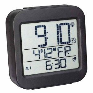 TFA 60.2533 budzik biurkowy zegar elektroniczny sterowany radiowo z termometrem