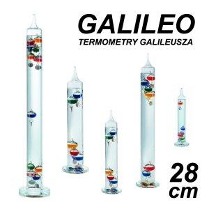 TFA 18.1006 GALILEO termometr Galileusza 28 cm 5 kolorowych kulek REKLAMOWY