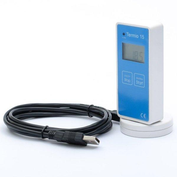 Czytnik do rejestratorów Termio i Termio+ adapter USB