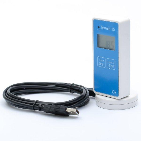 Czytnik do rejestratorów Termio-1 Termio-2 Termio-15 Termio-31 adapter USB