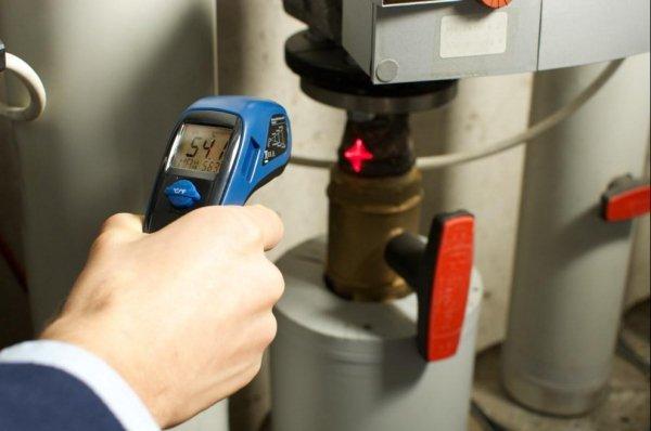 TFA 31.1131 MULTI-BEAM termometr bezkontaktowy do pomiaru temperatury powierzchni pirometr