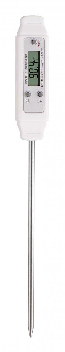 TFA 30.1018 POCKET-DIGITEMP termometr kuchenny elektroniczny z sondą szpilkową do żywności 125 mm