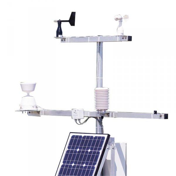 PM Ecology RADIO PRO GPRS/GSM stacja meteorologiczna profesjonalna z transmisją stacja pomiarowa badawcza