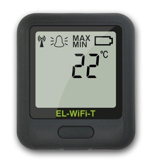 Corintech EL-WiFi-T rejestrator temperatury internetowy data logger WiFi, IP, Ethernet