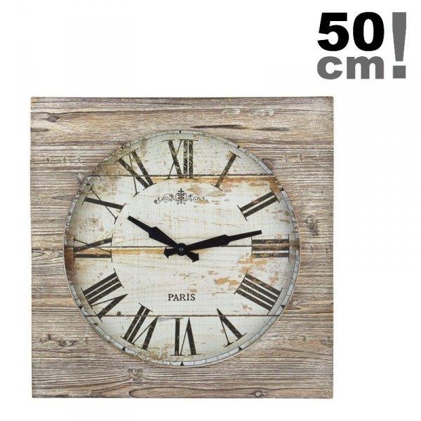 TFA 60.3030 VINTAGE zegar ścienny wskazówkowy XXL 50 cm