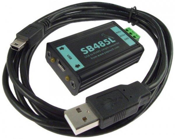 Konwerter przemysłowy USB do RS485 Papouch SB485L Basic izolowany galwanicznie