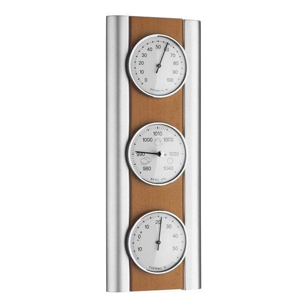 TFA 20.1053 stacja pogody tradycyjna mechaniczna klasyczna barometr ścienny