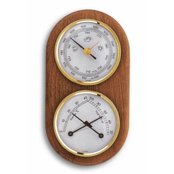TFA 20.1051 stacja pogody tradycyjna mechaniczna barometr ścienny