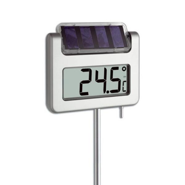 TFA 30.2026 AVENUE termometr ogrodowy elektroniczny z zegarem podświetlany duży 115 cm