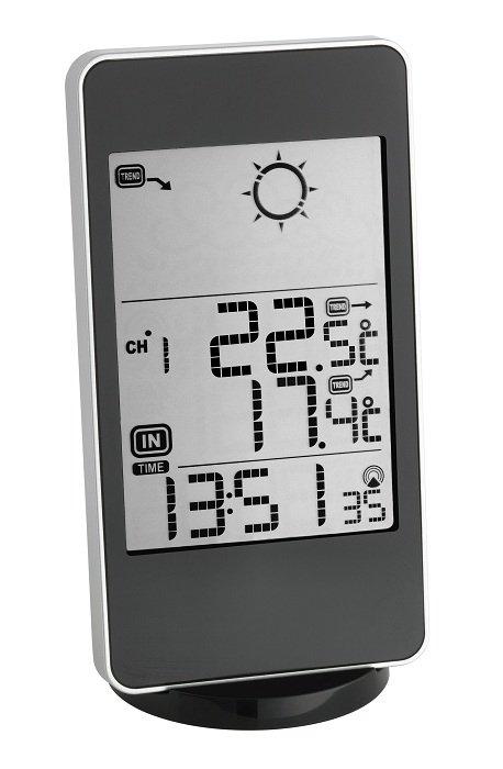Stacja pogody bezprzewodowa TFA 35.1116 CULT z czujnikiem zewnętrznym