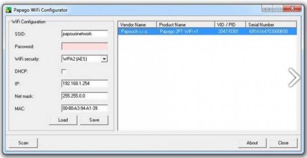 Papouch 2TC_WIFI PAPAGO moduł pomiarowy internetowy dwukanałowy zasilanie PoE Modbus TCP, WIFI, IP