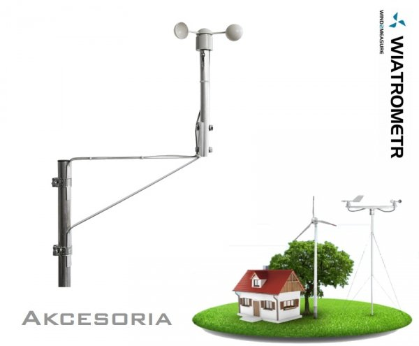 Wysięgnik masztowy instalacyjny krótki PM Ecology MST-201 do czujników wiatru