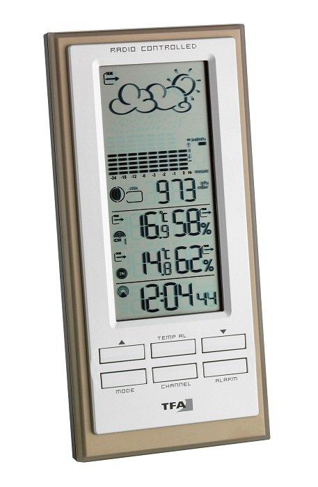 Stacja pogody bezprzewodowa TFA 35.1101 FAKTUM z czujnikiem zewnętrznym