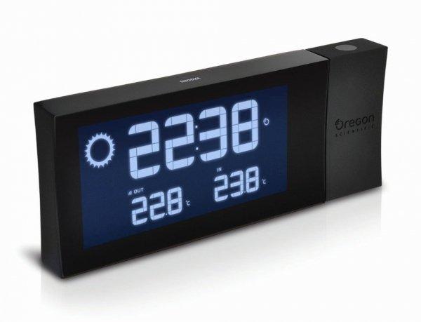 Oregon BAR223 PRYSMA Stacja pogody bezprzewodowa z czujnikiem zewnętrznym budzik z projektorem