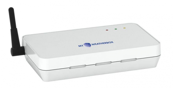 TFA 35.1138 MyWeatherBox stacja pogody bezprzewodowa on-line zewnętrzna wiatr, opady