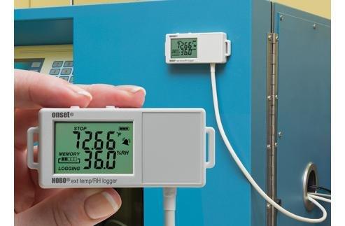 Rejestrator temperatury i wilgotności HOBO UX100-023 termohigrometr z zewnętrzną sondą