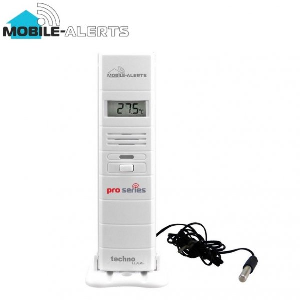 System zdalnego monitoringu Mobile Alerts MA10320 czujnik temperatury i wilgotności termohigrometr z sondą PRO smartfon