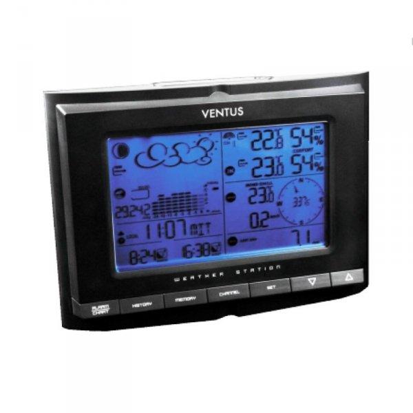 Ventus W831 stacja pogody bezprzewodowa zewnętrzna wiatr, opady