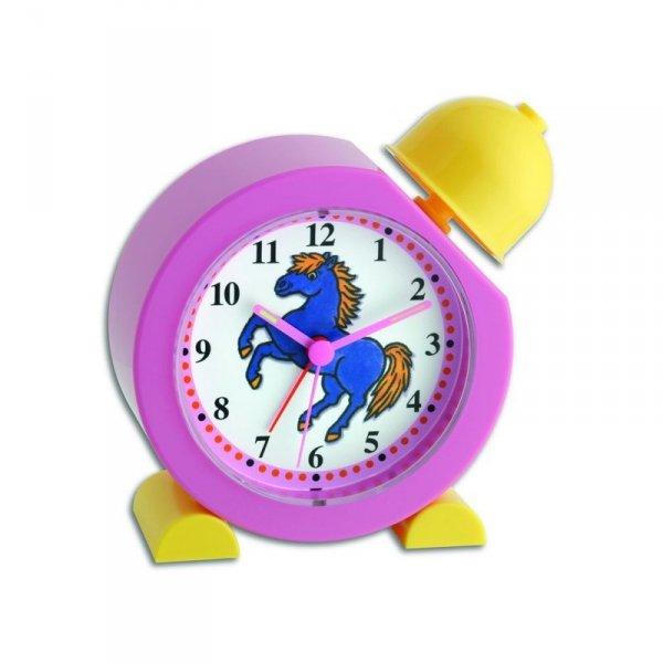 TFA 60.1011.12 KUCYK budzik biurkowy zegar wskazówkowy dziecięcy