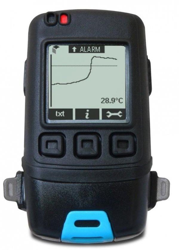 Rejestrator temperatury i wilgotności Corintech GFX-TH+ data logger termohigrometr USB