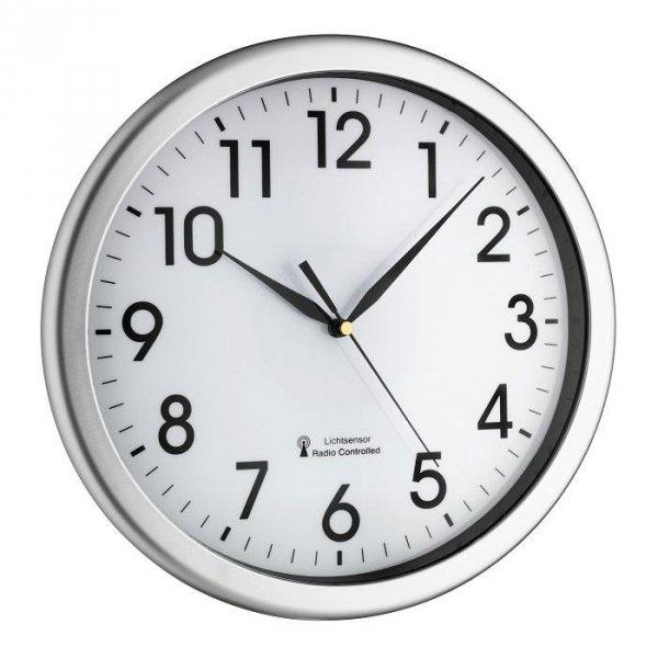 Zegar ścienny tarczowy TFA 60.3519 CORONA z podświetlaną tarczą średnica 31 cm