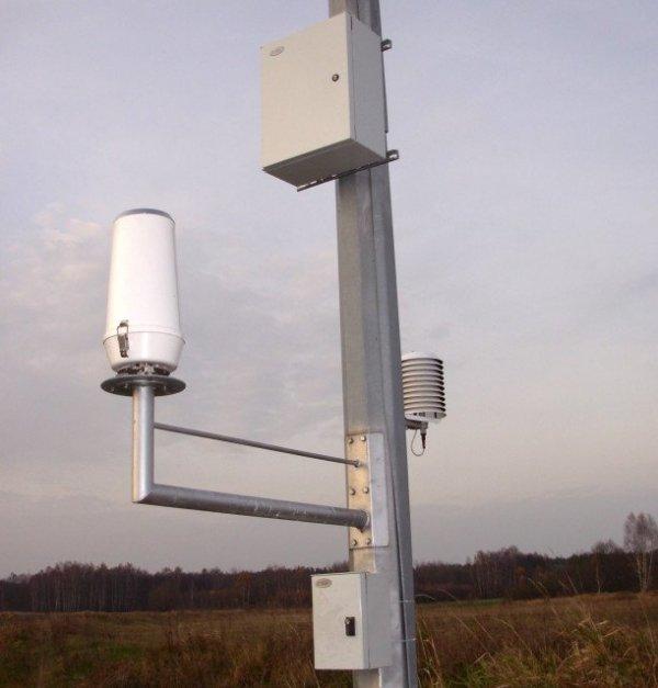 A-Ster TPG-125-H deszczomierz korytkowy sumacyjny ogrzewany standardowy nizinny 200 cm2 pluwiometr IMGW