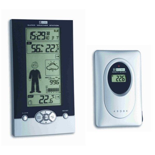 TFA 35.1085 STUDIO stacja pogody bezprzewodowa z czujnikiem zewnętrznym