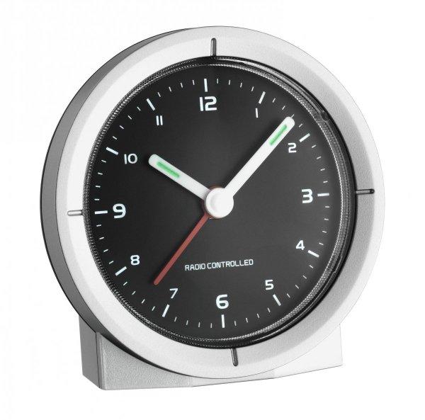 TFA 60.1504 budzik biurkowy zegarek wskazówkowy sterowany radiowo