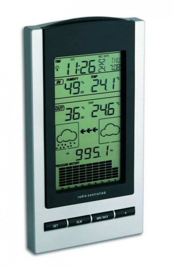 Stacja pogody bezprzewodowa TFA 35.1083 GAIA z czujnikiem zewnętrznym (Garni 117)