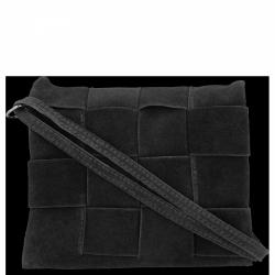 Listonoszka Skórzana VITTORIA GOTTI Made in Italy V2378 Czarna