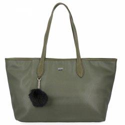 Uniwersalna torebka damska David Jones Zielona