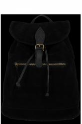 Plecak Skórzany VITTORIA GOTTI Made in Italy 80022 Czarny