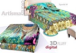 Koc 3D 155x220 cm Egzotik 39