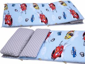 Śpiwór 155x70 cm zima/lato AUTA