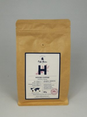 HOUSE COFFEE  500g  Arabika+Robusta