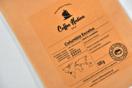 COLOMBIA EXCELSO 1000g - 100% Arabika