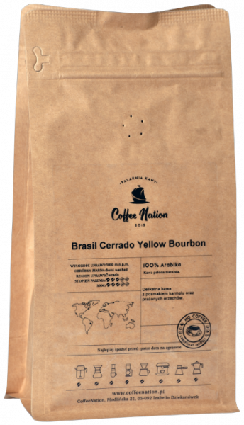 Brasil Cerrado Yellow Bourbon 250g - 100% Arabika