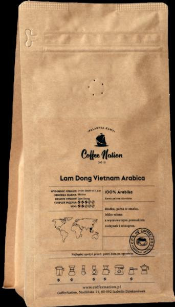 LAM DONG Arabica Vietnam  1000g - 100% Arabika