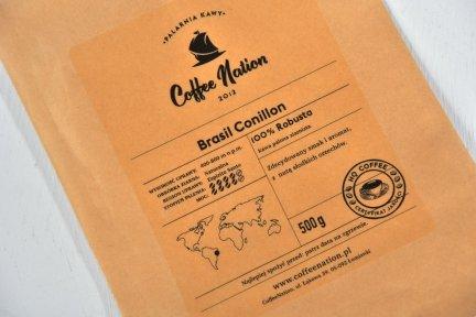 BRASIL CONILLON 250g  -100% Robusta