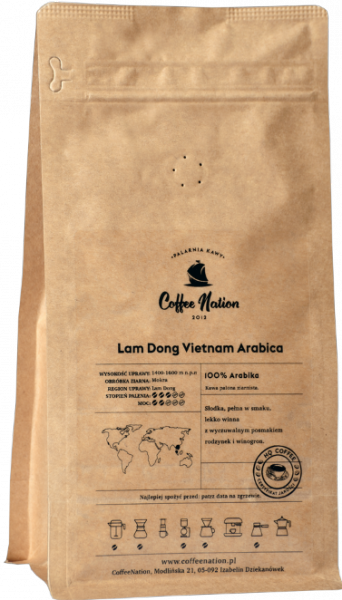 LAM DONG Arabica Vietnam  500g - 100% Arabika