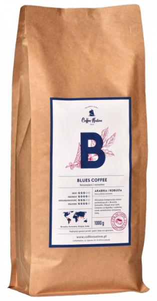 BLUES COFFEE  500g Arabika+Robusta