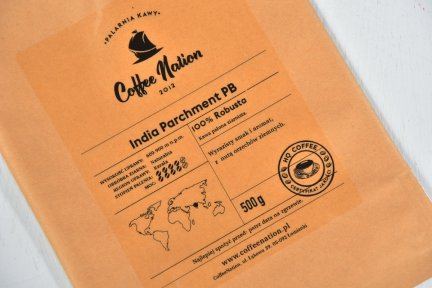 INDIA PARCHMENT   -100% Robusta