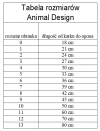 ANIMAL DESIGN Derka DP granatowo-kremowa rozmiar 06 36cm