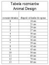 ANIMAL DESIGN Derka LADY Granatowo-Kremowa rozmiar 07 39cm