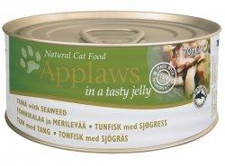Applaws puszka dla kota Jelly - Tuńczyk i Wodorosty 70g